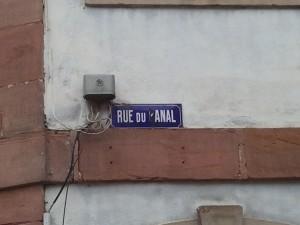 Rue du Anal