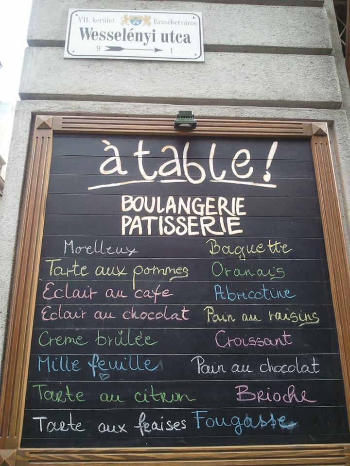boulangerie française budapest