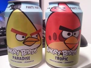 Soda angry birds