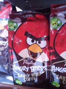 Café angry birds